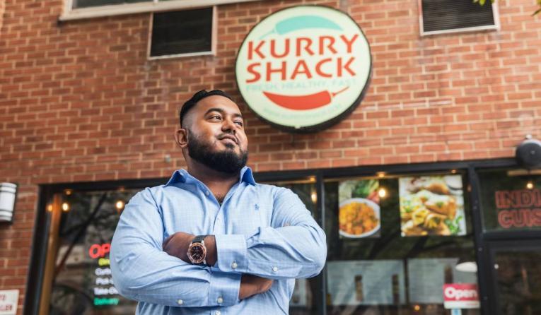 Kurry Shack's Shafi Gaffar