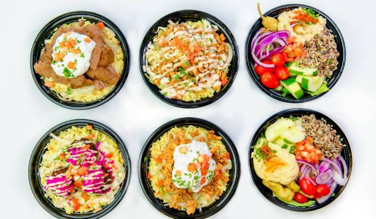 PITA Mediterranean Street Food rice bowls