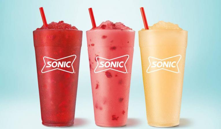 Sonic Uncorked slushes.