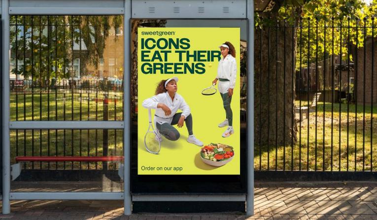 Sweetgreen Naomi Osaka campaign.