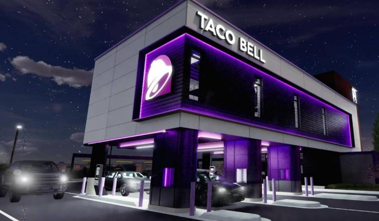 Taco Bell Defy restaurant oncept.