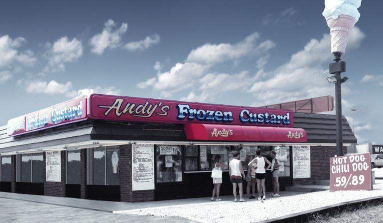 Andy's Frozen Custard original store.