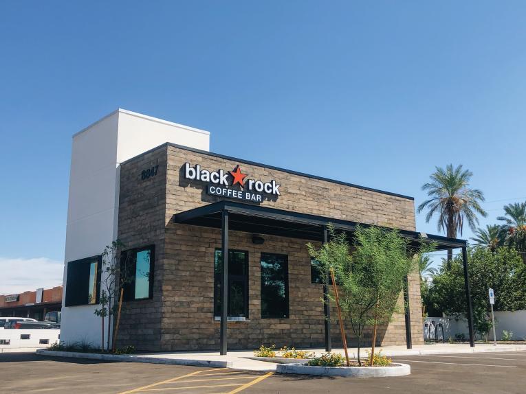 Black Rock Coffee Bar exterior.