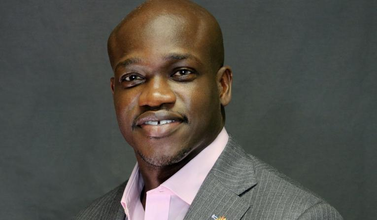 Edible president Cheikh Mboup.