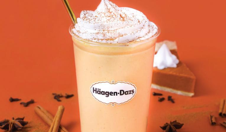 Häagen-Dazs Pumpkin Spice Shake.