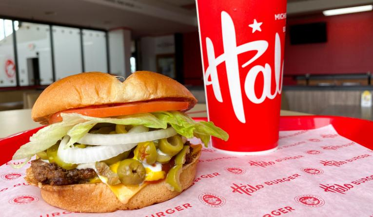 Halo Burger.