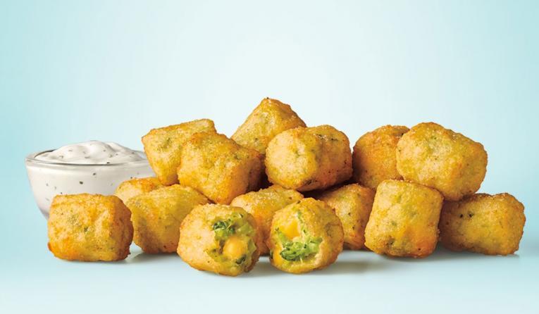 Sonic Drive-In Broccoli Cheddar Tots.