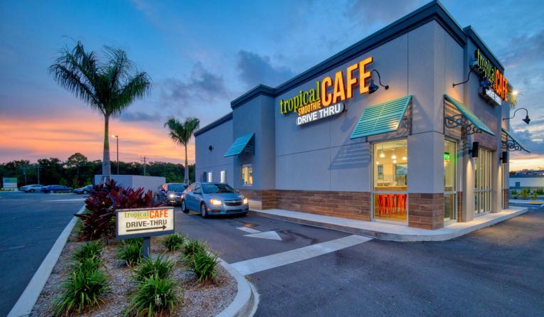 Tropical Smoothie Cafe.