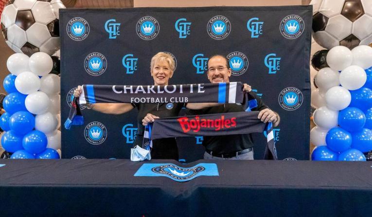 Bojangles Charlotte FC.