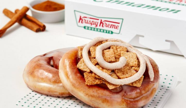 Krispy Kreme Cinnamon Rolls.