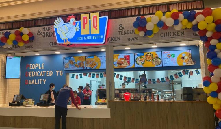 PDQ international store.