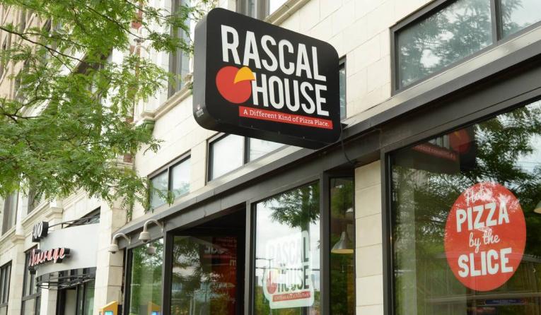 Rascal House exterior.
