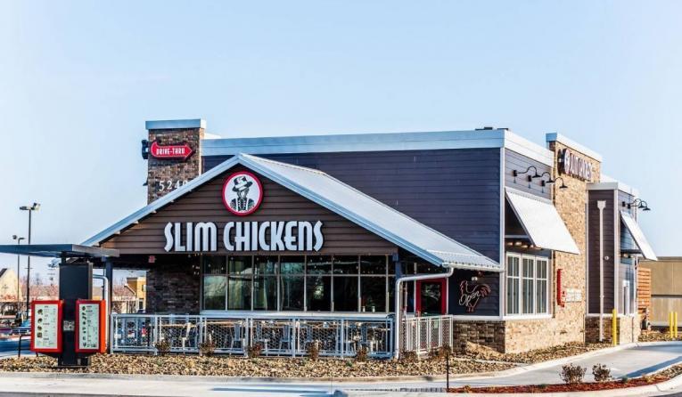 Slim Chickens building.