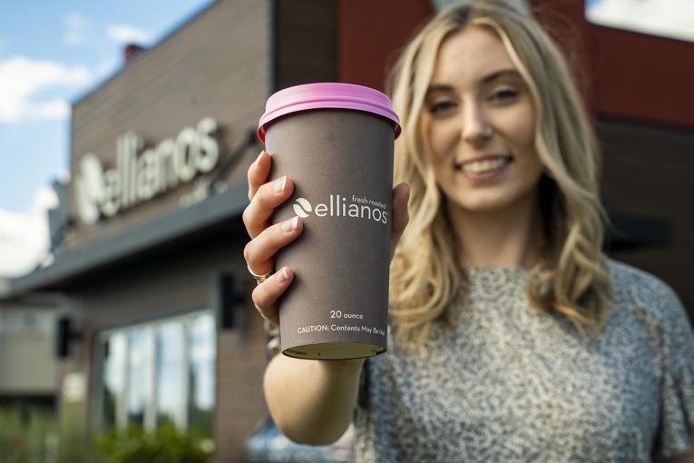 Ellianos Coffee.