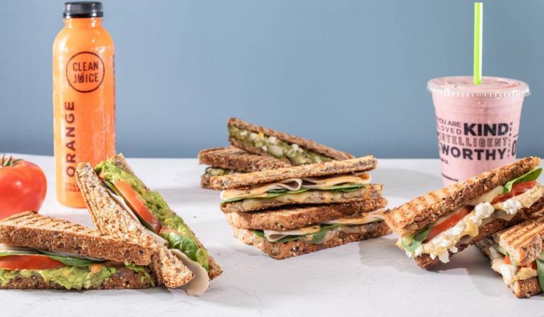 Clean Juice Sandwiches