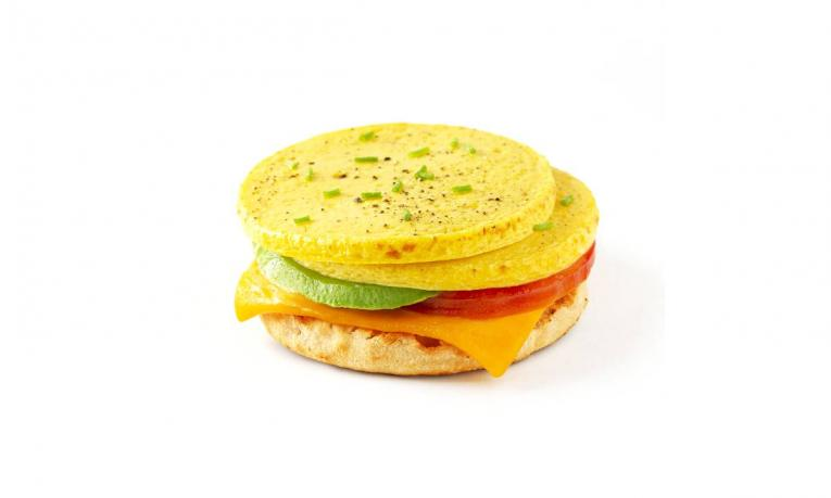 Simply Eggless Plant-Based Egg Patties.