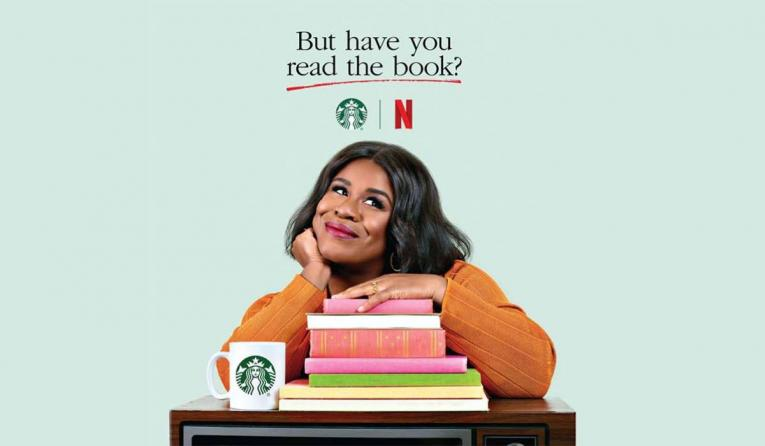 Starbucks and Netflix Social Content Series.