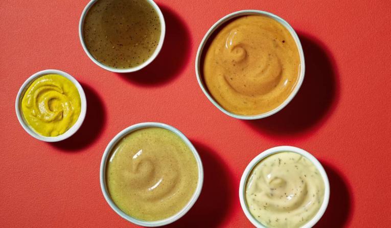 Subway Sauces.
