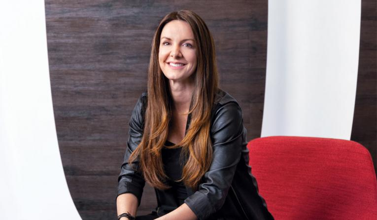 FOCUS Brands's Kat Cole poses for a photo.