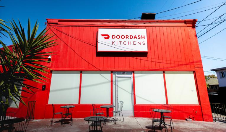 DoorDash Kitchens exterior.