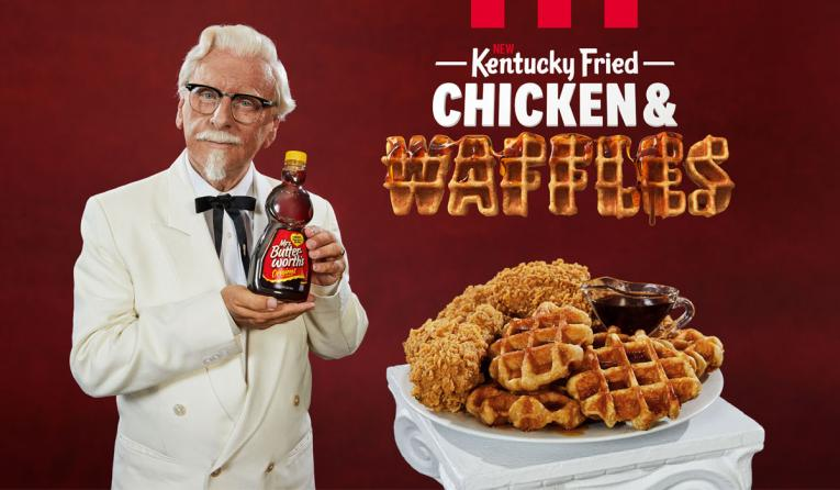 Fried Chicken And Waffles Are Finally On The Menu At Kfc