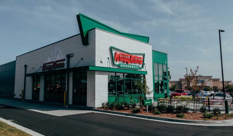 Krispy Kreme exterior