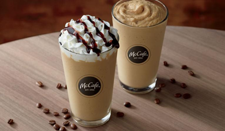 Cold Brew Frozen Coffee at McDonald's.