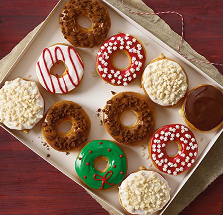 Holiday giveaways from Dunkin Donuts
