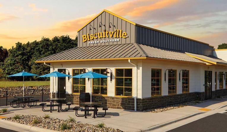 Exterior of Biscuitville