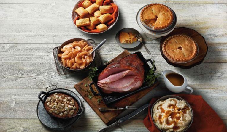 Boston Market's ham dinner for 12 for Easter.