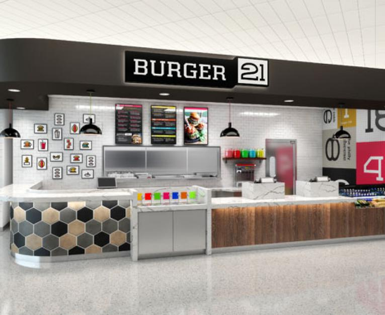 Burger 21 Unveils New Restaurant Design Restaurant News