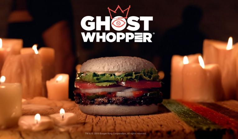 Burger King Halloween Whopper 2020 Burger King Unveils the 'Ghost Whopper' for Halloween | QSR magazine