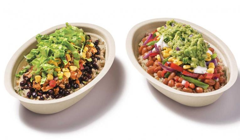 Chipotle's meat-free bowls