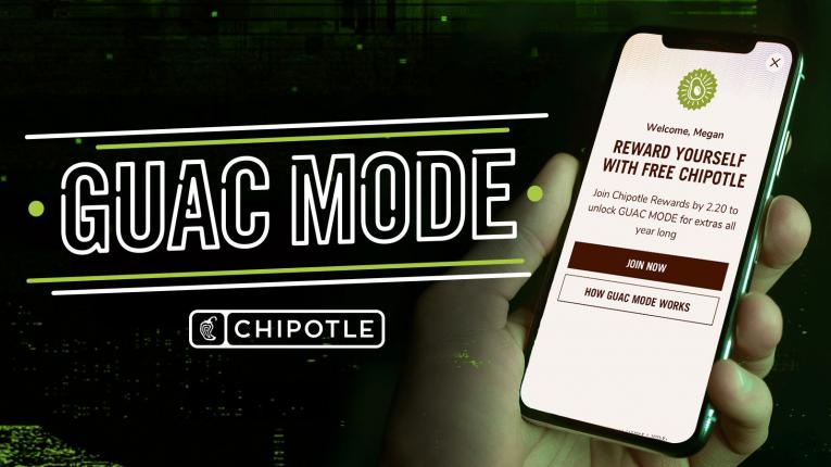 Chipotle gives loyal customers free guacamole in February.