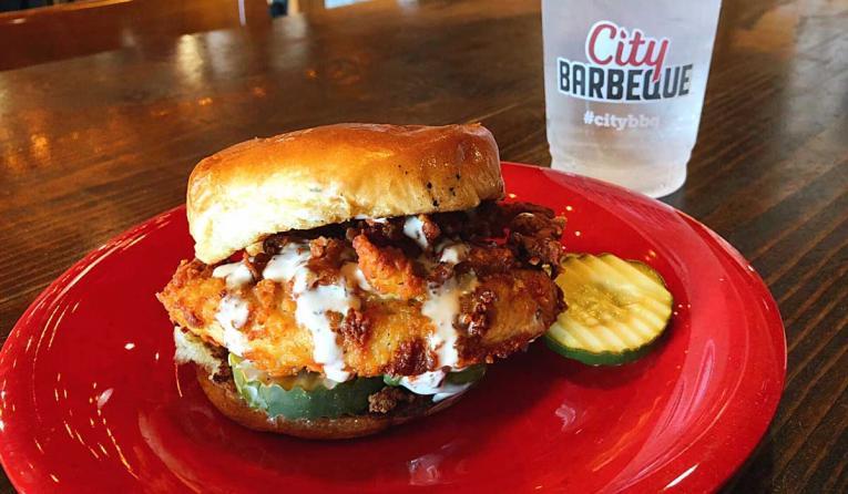 City Barbecue's new Bama Crispy Chicken Sandwich