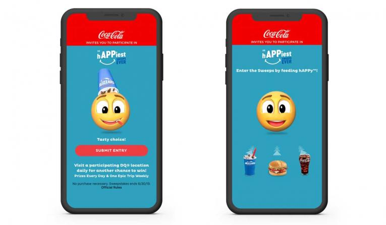 Dairy Queen Partners with Coca-Cola to Launch 'The hAPPiest