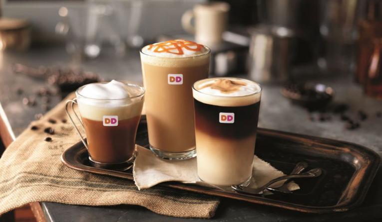 Dunkin' Donuts espresso drinks.