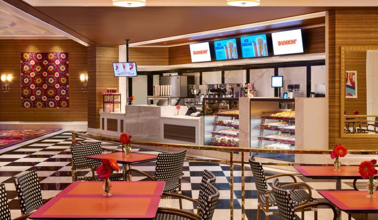 Customer Experience Management >> Dunkin' Opens at Encore Boston Harbor Resort & Casino - Restaurant News - QSR magazine