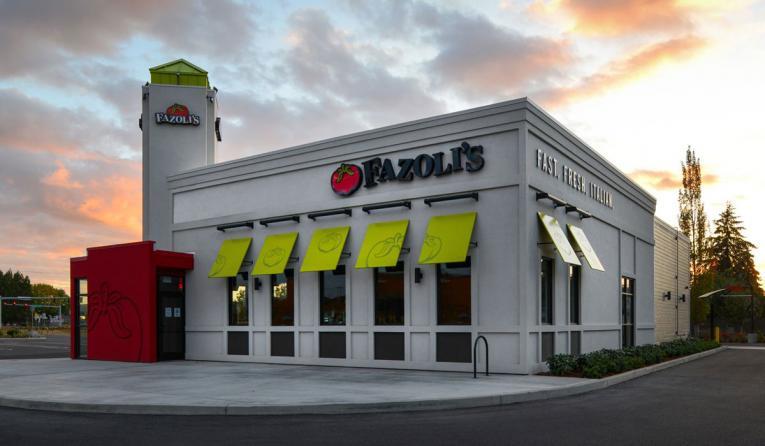 Fazoli's exterior building image.