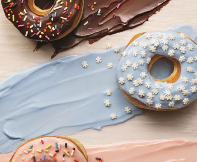 Dunkin' Donuts is removing artificial dyes from its donuts.