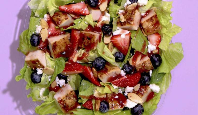 Wendy's Berry Burst Salad