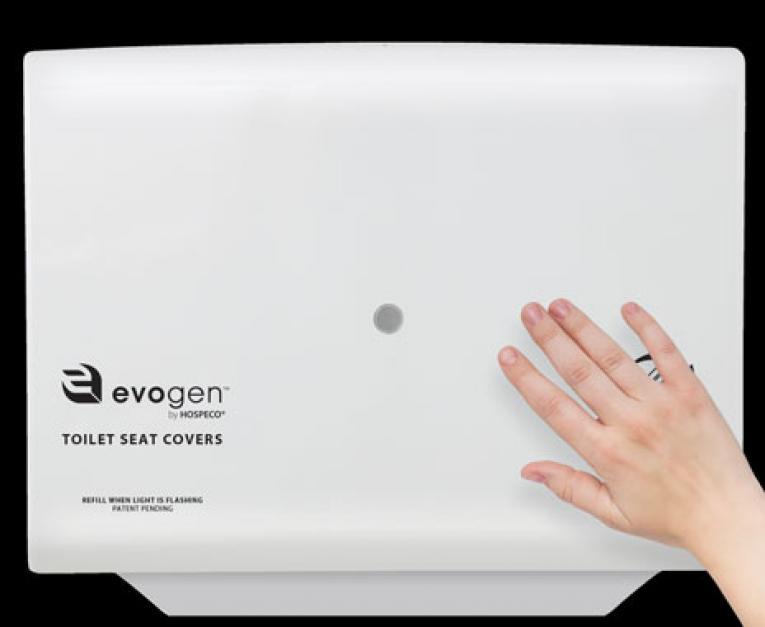 Marvelous Hospeco Introduces No Touch Toilet Seat Cover Dispenser Machost Co Dining Chair Design Ideas Machostcouk