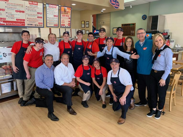 Jersey Mike's team