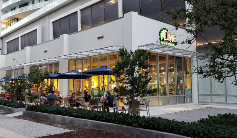 Lime Fresh Mexican Grill Opens In Midtown Miami Restaurant