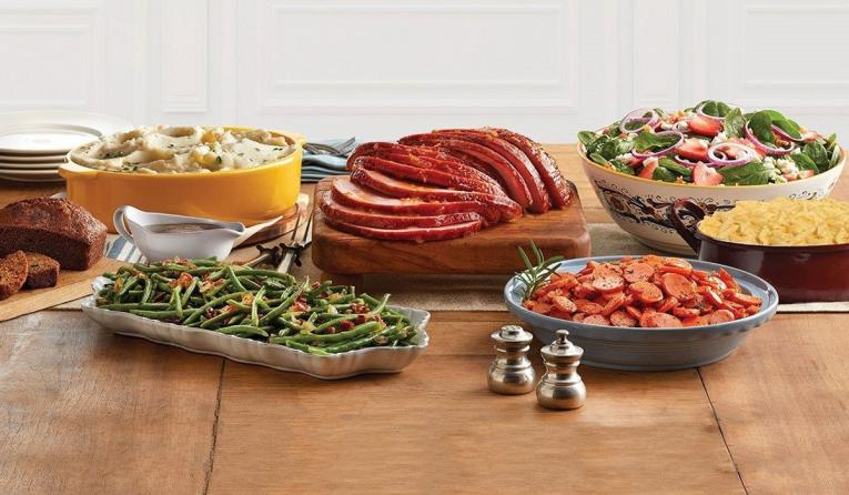 Mimis Christmas Holiday Ham Feast To Go 2020 Mimi's Selling To Go Easter Feast for $104.99 | QSR magazine