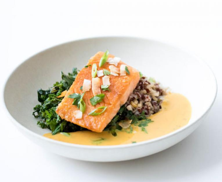 Modern Market Debuts New Menu Sustainable Salmon Restaurant News