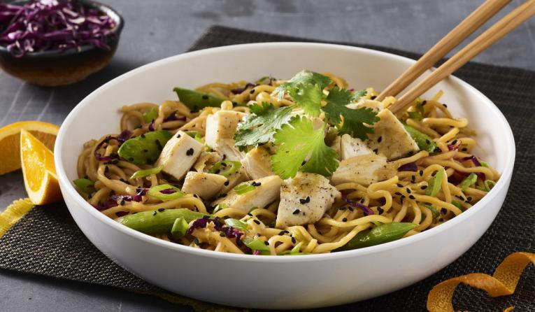 Noodles Company Adds Grilled Orange Chicken Lo Mein To Menu Qsr Magazine