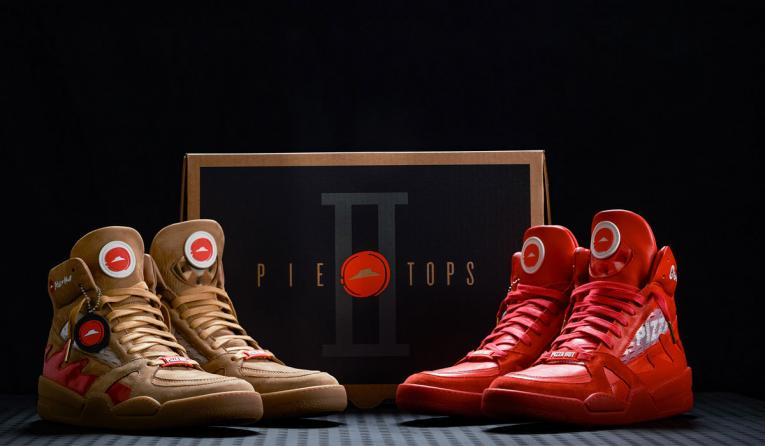 8e9404356b290 Pizza Hut's Pizza-Ordering Sneakers are Back for March Madness ...