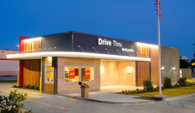 McDonald's in Denton, Texas.