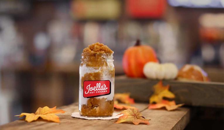 Joella's Pumpkin Pie in a jar